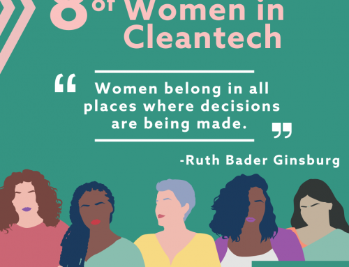 Eight Weeks of Women In Cleantech